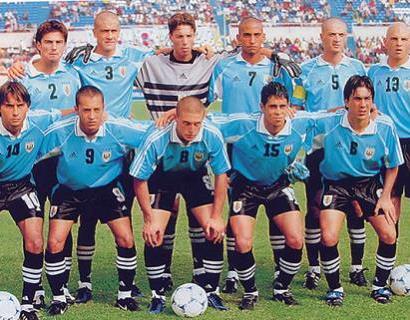 Uruguay 4ª Puesto Sub 20- Nigeria 99